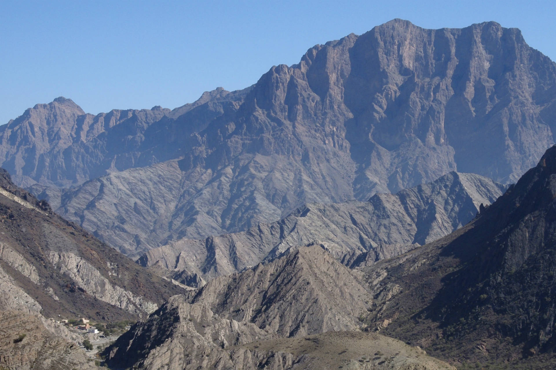 Oman - Al Akhdar Gebirge