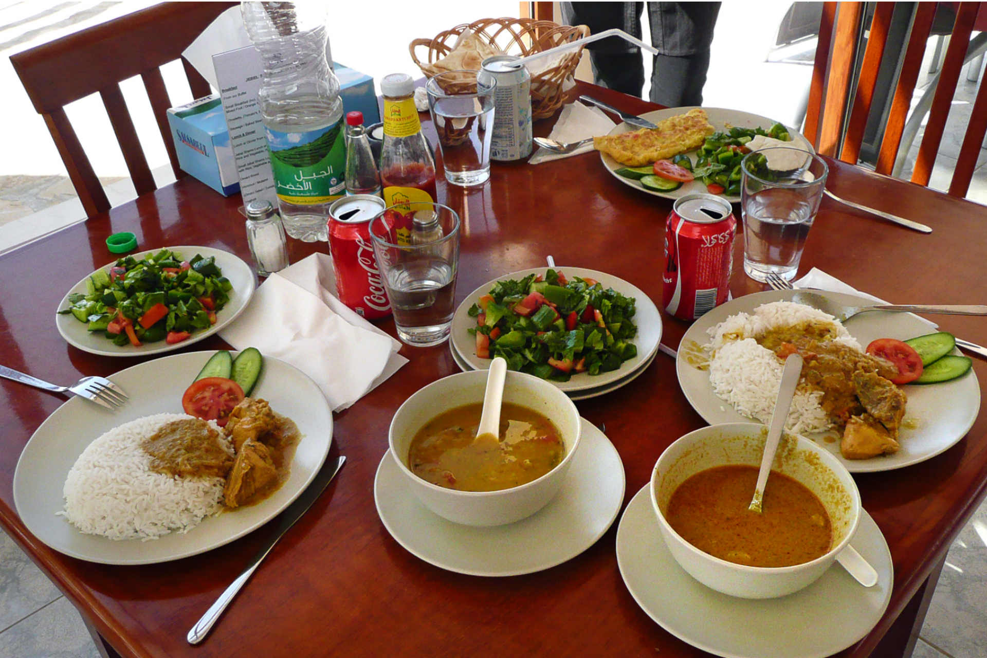 Oman - Mittagessen in Salalah