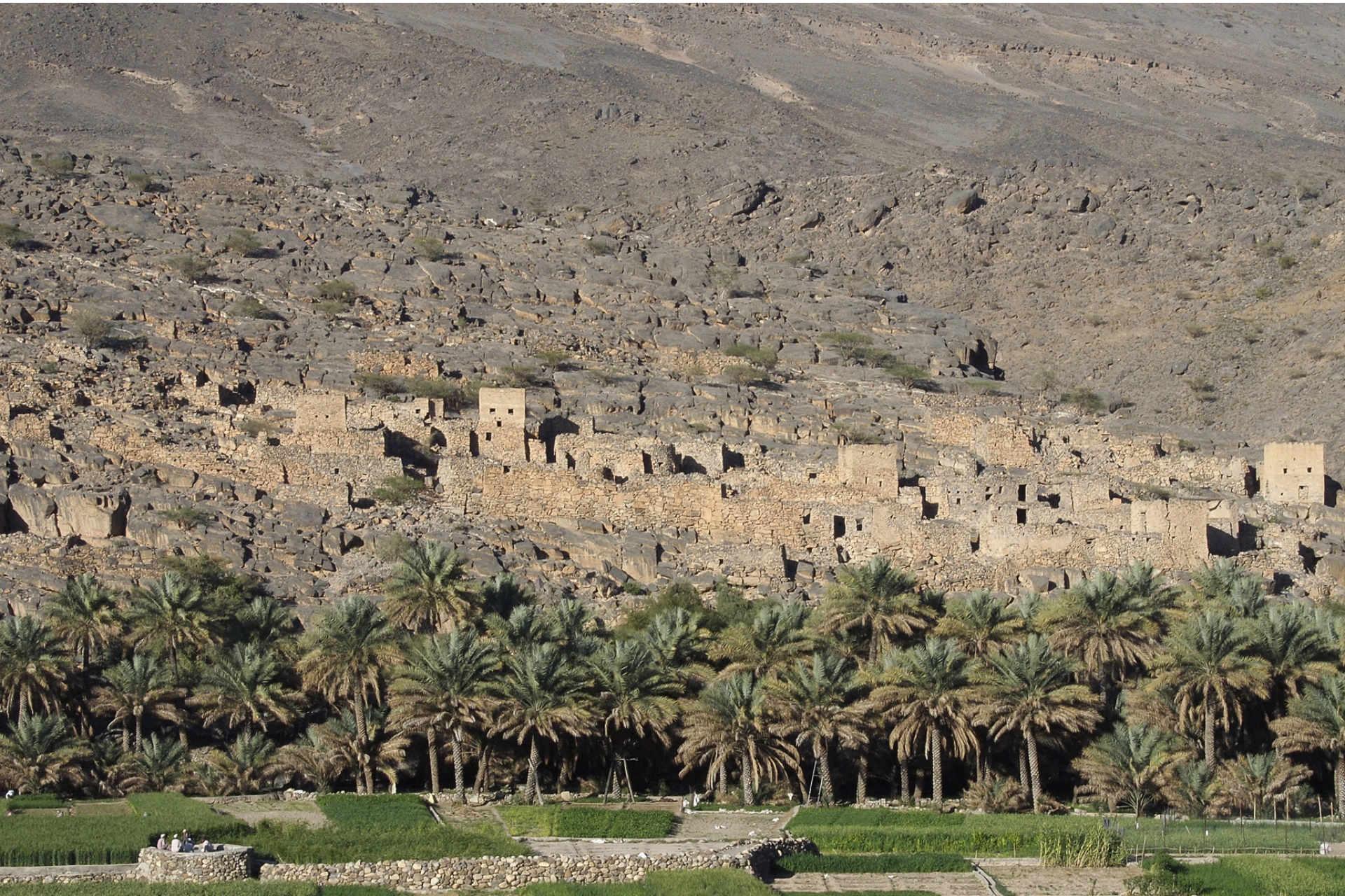 Oman - Ruinenstadt Al Hamra