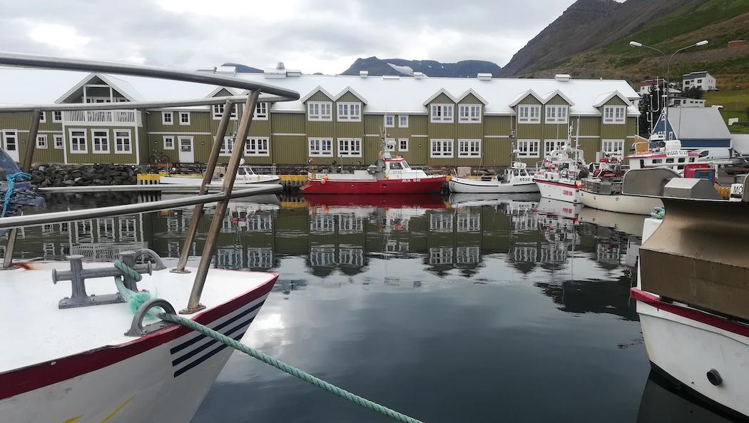 Hafen von Siglufjördur